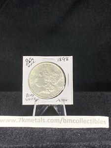 Uncirculated 1898  Philadelphia  Silver Morgan Dollar Bu Gem