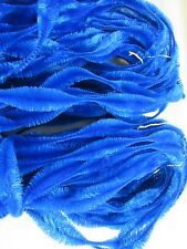 4 Vintage Jay Brand Figure Bump Chenille  18 Yards In Each ROYAL BLUE