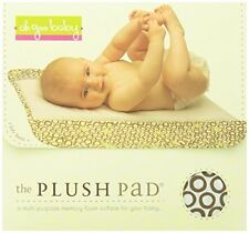 The Plush Pad Portable Changing Pad with Memory Foam, Bubbles in Cola Pattern