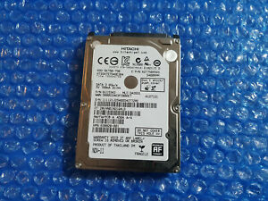 "Hitachi 750 Gb 2.5"" Hard Drive HTS547575A9E384 5K750-750 FAST POST"