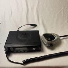 Motorola Pm400 Vhf 146 174 Mhz 64 Channels 45 Watt Mobile Radio