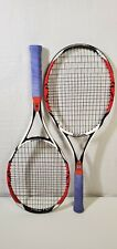 TWO Wilson K-Factor Six One 95 18x20 Tennis Racquets 4 5/8