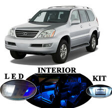 LED Package - Interior + License Plate + Vanity for Lexus GX 470 (17 pieces)