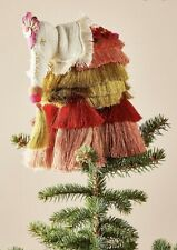 Anthropologie Majestic Tassels Tree Topper-NEW with TAGS!