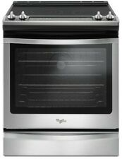 New! Whirlpool Wee745H0Fs 30 Inch Slide-In Convection Electric Range