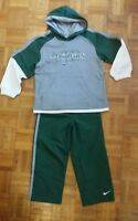 Boys Nike Hoodie Hooded Tracksuit Green/White Size 4 years  rrp£45 New