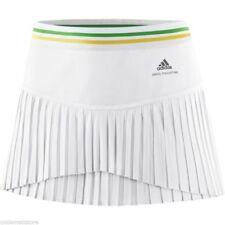 Jupe Jupe Tennis Short Blanc Femme Adidas - W Asmcb Skort Taille L