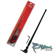 BLACK RUBBER DUCK AM/FM RADIO ANTENNA WITH CABLE suits 4x4BOAT/CAR/TRUCK/CARAVAN