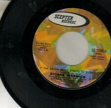 SINGLE 45 DIONNE WARWICK GREEN GRASS STARTS TO GROW 7""