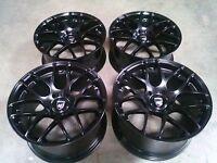 "Avant Garde Black 19"" wheels rims for Porsche Cayman Boxster 986 987 1996 an up"