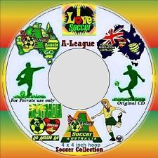 AUSTRALIAN SITE: A-League Soccer Collection for a 4 x 4 inch Hoop