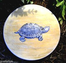 "Gostatue MOLD turtle stepping stone concrete plaster mould 8"" x 1.25"" thick"