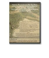 69 Historic Revolutionary War Maps FL GA LA PA VA on CD - B69