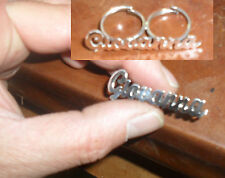 anello doppio dito  argento 925 regolabile personalizzato  nome GIOVANNA o altro
