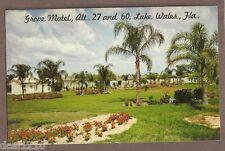 VINTAGE POSTCARD 1969 GROVE MOTEL LAKE WALES FLORIDA