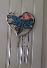 Acrylic Wall Hanging With Wind Chimes
