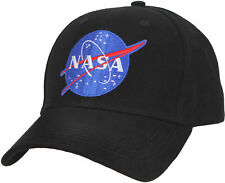 11292e191e763 NASA Baseball Hat Meatball Official Space Logo Embroidered Adjustable Dad  Cap