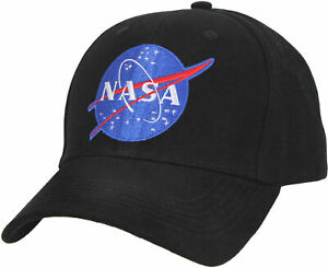 NASA Baseball Hat Meatball Official Space Logo Embroidered Adjustable Dad Cap