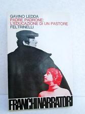 Gavino Ledda PADRE PADRONE L'educazione di un pastore LIBRO NARRATIVA ITALIANA