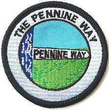 The Pennine Way National Trail in England Embroidered Sew or Iron on Patch (C)