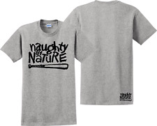 """Vintage Naughty By Nature Classic Logo T-shirt """"New Jersey Edition"""""""