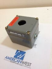 Square D KY-1 Control Station Heavy Duty Series A 600 VAC Class 9001 Used