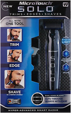 Rechargeable Shaver Trimmer & Edge Razor For Men Trim By MicroTouch SOLO A.S TV