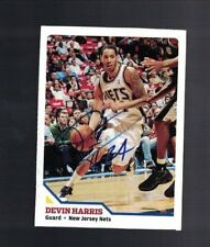 Devin Harris New Jersey Nets Signed SI For Kids Magazine Card W/Our COA