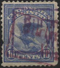 USA 1911 Sc#F1 10c ultramarine eagle registration stamp
