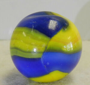 #13183m Vintage Marble King Rainbow Cub Scout Shooter Marble 1.01 Inches