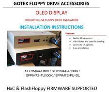 OLED DISPLAY HARDWARE MOD for GOTEK USB - HXC / FLASH FLOPPY Incl. Install Guide
