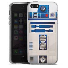 Apple iPhone 5s Silikon Hülle Case - R2D2 Closeup