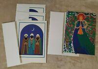 Greetings Cards - Lot Of  Vintage Christmas Cards 4 - Unique