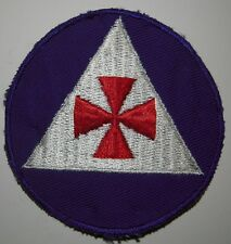 WW2 Civil Defense Fireman Shoulder patch - US Army