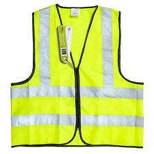 HIGH VISIBILITY SAFETY VEST HI-VIS (BS EN 471 BRITISH STANDARD) PENTAGON