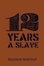 Word Cloud Classics: 12 Years a Slave : A Memoir of Kidnap, Slavery and...