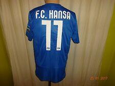 "Fc hansa rostock original nike matchworn camiseta 2013/14 ""W madera"" + nº 11 talla S-M"