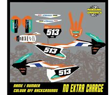 KTM SX 50 65 Motocross Graphics Kit Decals Stickers MX All Year KTM SX 50 6