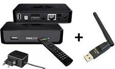 MAG 254 Box IPTV  Multimedia player SET TOP BOX Internet + WLAN Stick