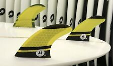 """ZENITH  """"Shredder"""" Hexcore Surfboard TRI FINS , Dual Tab  FCS1 Compatible"""