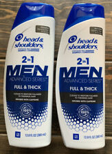 2 Head & Shoulders Men 2in1 Advanced Series Shampoo & Conditioner 12.8 Oz Each