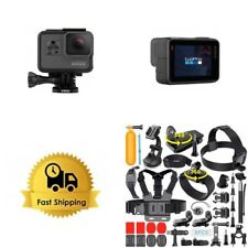 GoPro HERO6 Black Camera HD 4K CHDHX-601 Hero 6+16GB Card+Extreme Sports Bundle!