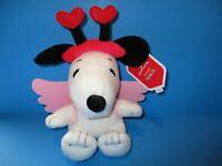 NEW Hallmark Cupid Snoopy Valentine's Day Plush 2019 Peanuts With Tags