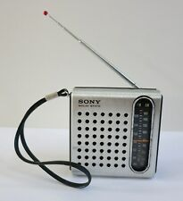 Sony Solid State AM/FM Transistor Radio TFM-3750W, Tested Works