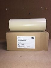 3M 470 Electroplating Tape 330.2mm x 32.9m - Milling Etching Masking Anodizing