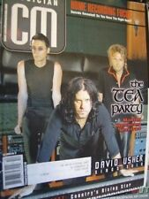 Canadian Musician Magazine Sept/Oct 2001 Tea Party, David Usher, Adam Gregory