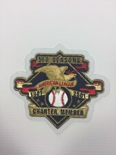 2001 American League 100 Years Charter Member Official MLB Jersey Patch