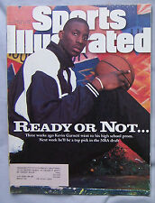 KEVIN GARNETT NBA DRAFT 1995 SPORTS ILLUSTRATED