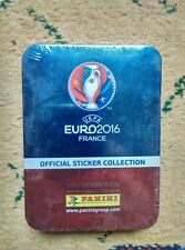 Panini Uefa Euro France 2016 TIN stickers 12 sachets, 4 stickers Special