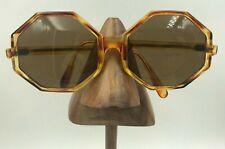Vintage Tortoise Brown Oversized Geometric Sunglasses Eyeglasses Greece